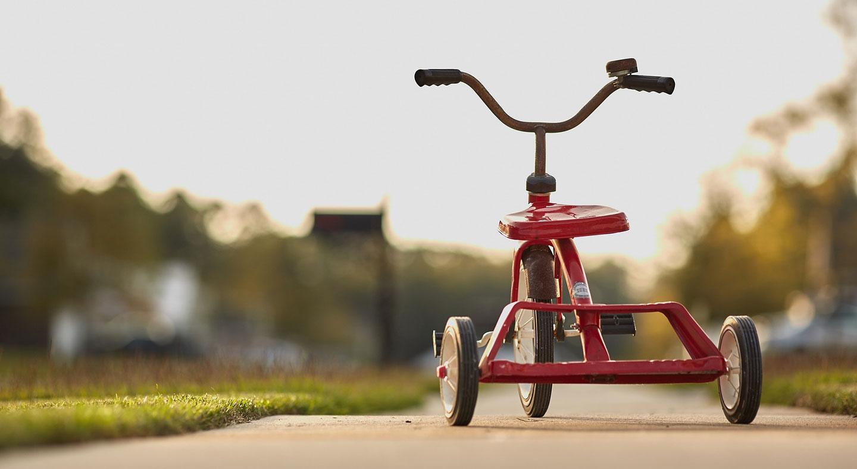 Husker du da du lærte å sykle?